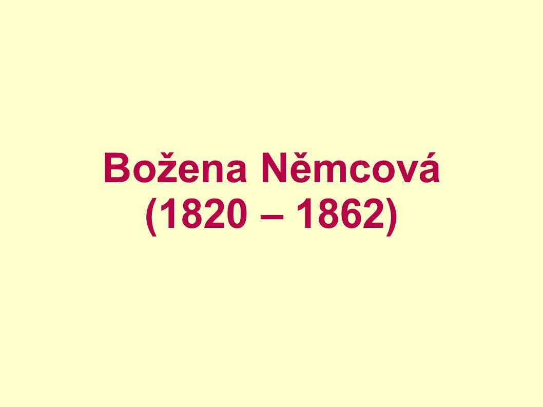 Božena Němcová (1820 – 1862)