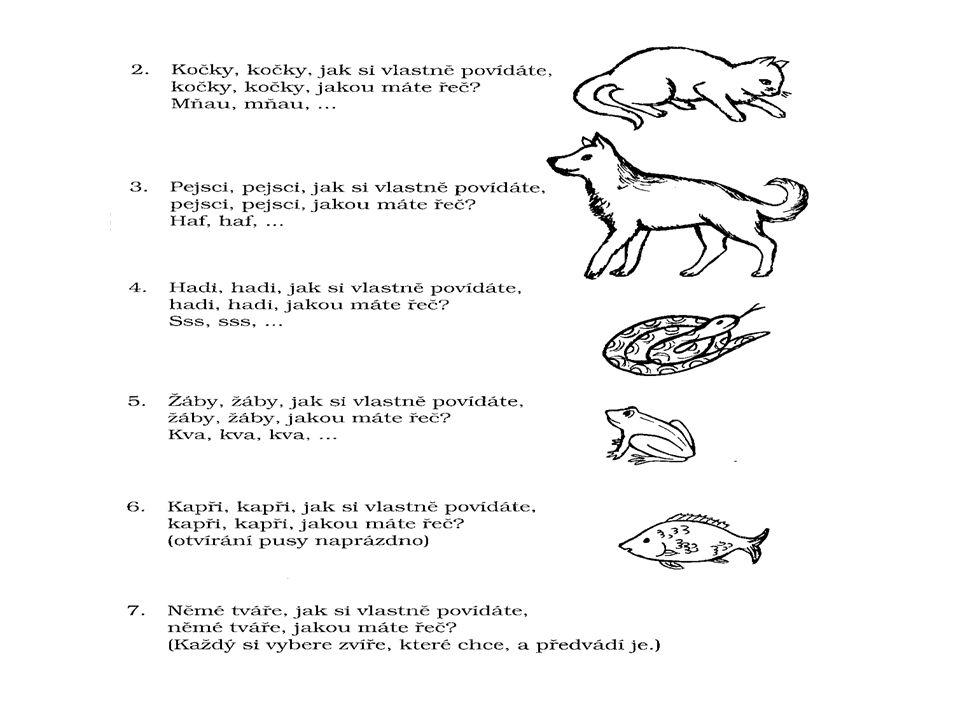 Vymysli další sloky písničky : žáby ovce kozy koně kuňkáme bečíme mečíme frkáme
