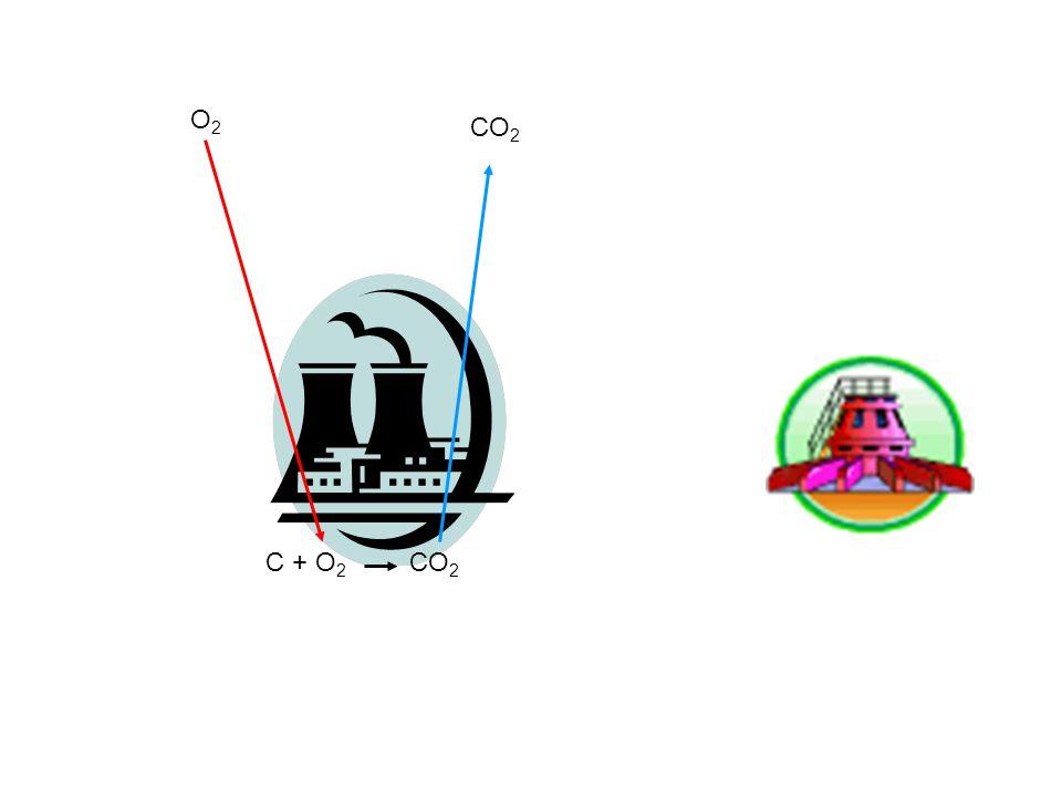 C + O 2 CO 2 O2O2 CO 2