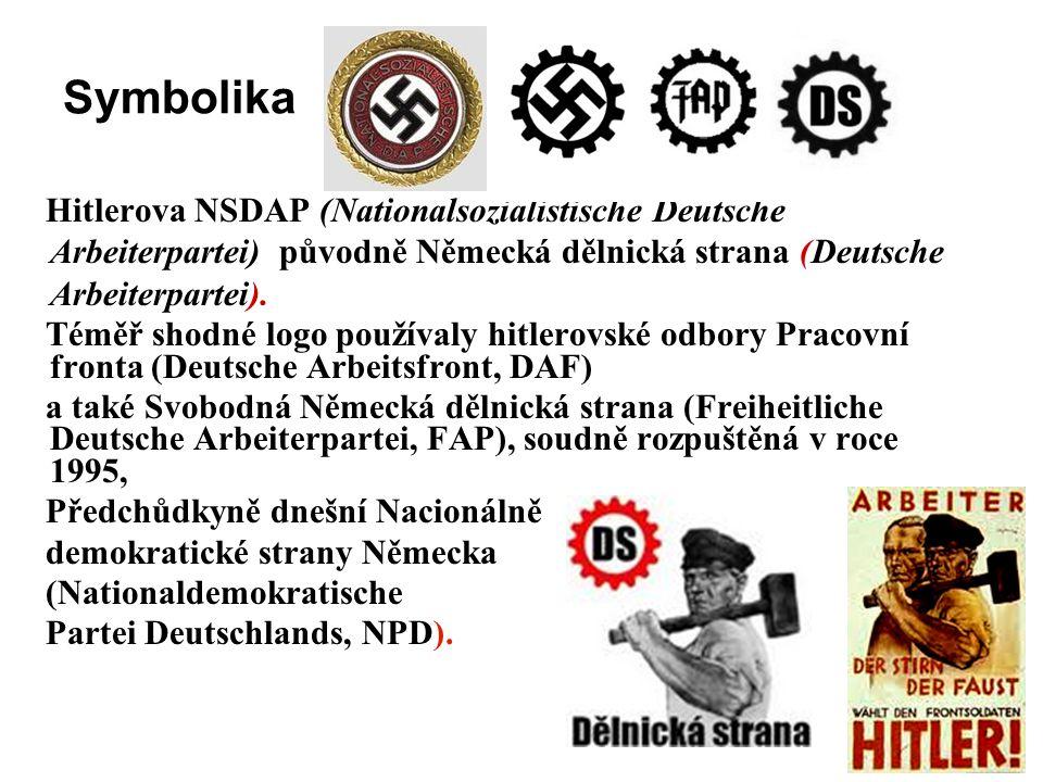 Vznik a kočeny strany Dělnická strana vnikla v lednu roku 2003 po roztržce ve vedení Republikánů Miroslava Sládka (RMS), na troskách Republikánské mlá