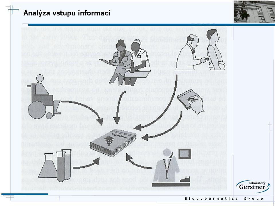 B i o c y b e r n e t i c s G r o u p Analýza uživatelů dat a informací