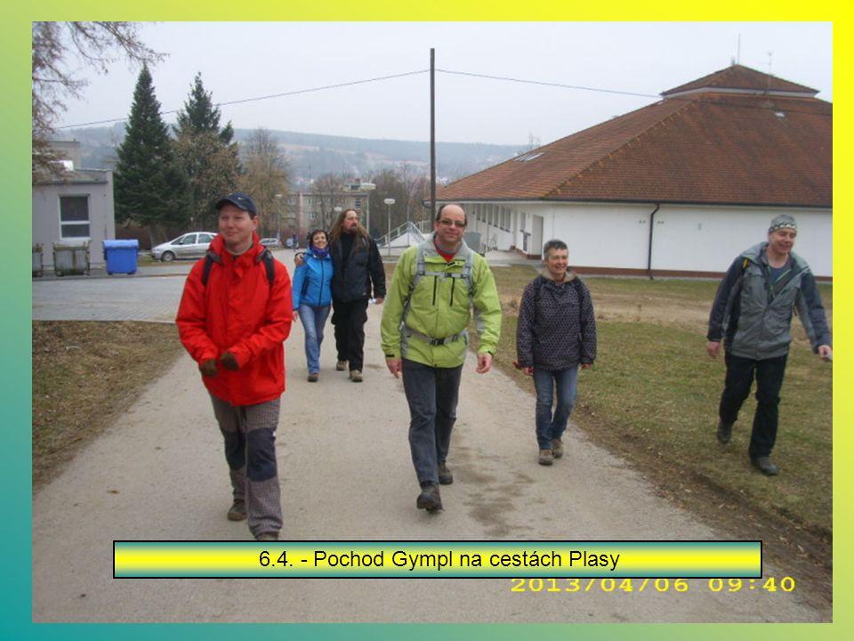 6.4. - Pochod Gympl na cestách Plasy