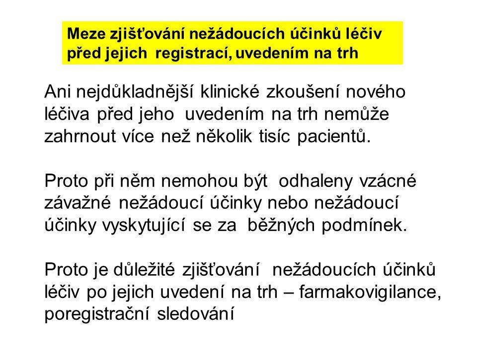 HMA - buletin Evropské lékové agentury: http://www.hma.eu SPC (Souhrn údajů o přípravku) Solidní zdroje informací o NÚL: solidní lékové databáze: AISLP, Micromedex, UpToDate, BNF, aj solidní lékařské časopisy NÚL všeobecně: NÚL aktuální: solidní lékařské časopisy dopisy lékařům (Dear Doctor...) Nežádoucí účinky léčiv - informační zpravodaj SÚKL http://www.sukl.cz/sukl/nezadouci-ucinky-leciv- informacni-zpravodaj