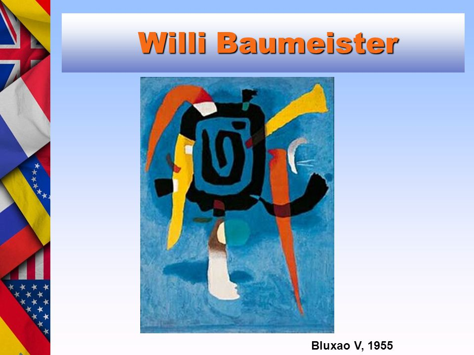 Willi Baumeister Willi Baumeister Bluxao V, 1955