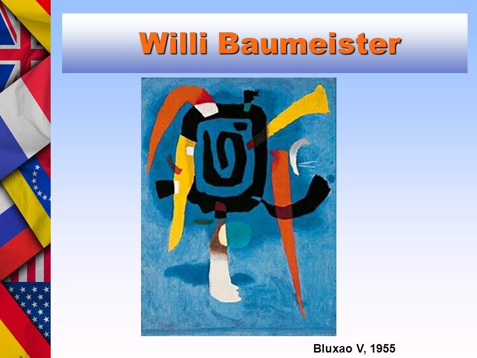 Willi Baumeister Willi Baumeister Bluxao V, 1955