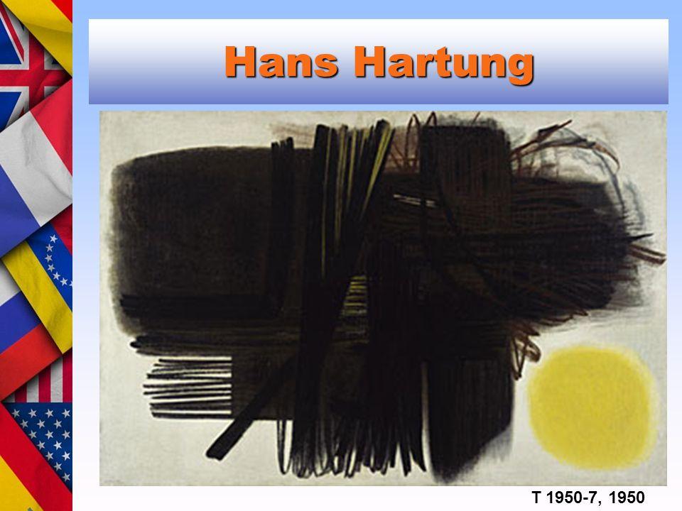 Hans Hartung T 1950-7, 1950