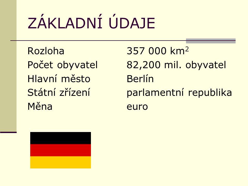ZÁKLADNÍ ÚDAJE Rozloha357 000 km 2 Počet obyvatel82,200 mil.
