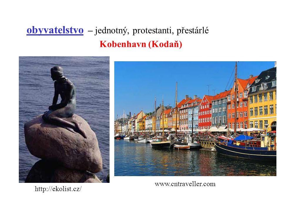 obyvatelstvo – jednotný, protestanti, přestárlé Kobenhavn (Kodaň) http://ekolist.cz/ www.cntraveller.com