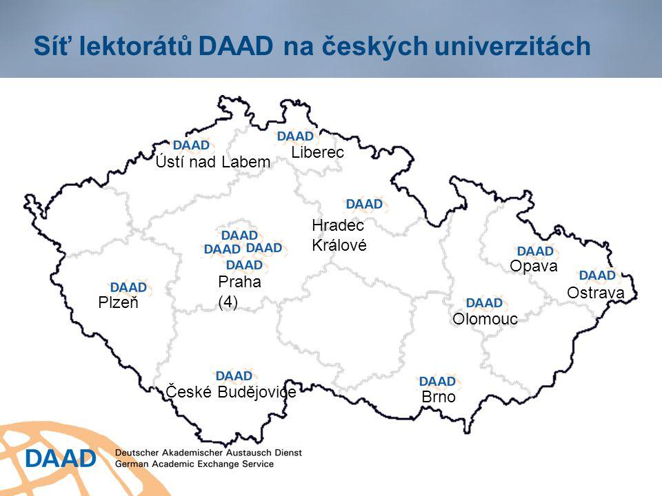 Kontakt Informační centrum DAAD Praha 13 lektorů DAAD, jazykoví asistenti Kdo informuje v ČR.