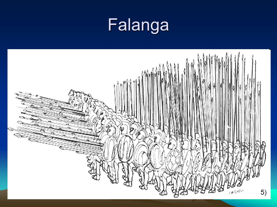 Falanga 5)