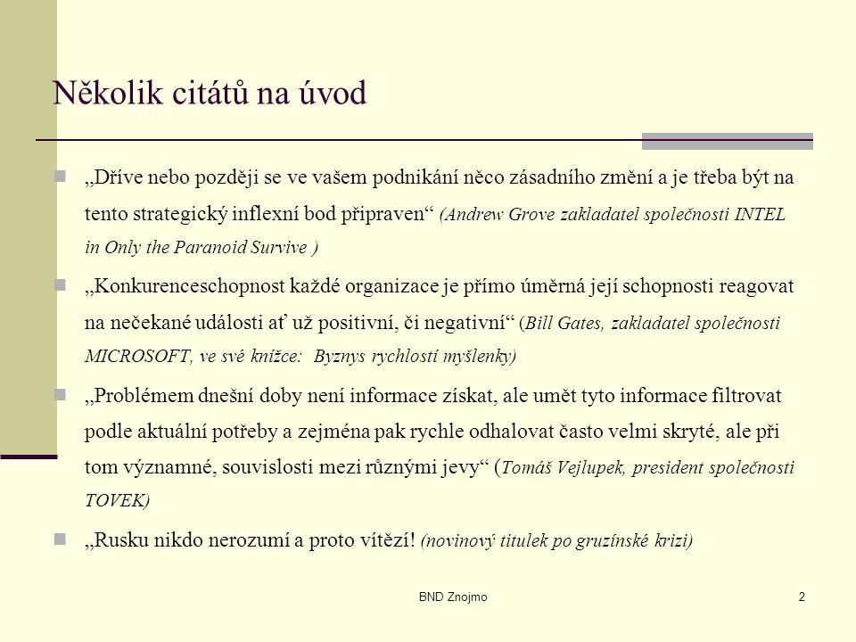 BND Znojmo33 Patentové informace (výběr) Derwent World Patents Index (http://www.derwent.co.uk);http://www.derwent.co.uk STN International – http://www.stn-international.de,http://www.stn-international.de Dialog Corporation – http://www.dialog.comhttp://www.dialog.com Questel/Orbit – http://www.questel.orbit.com.http://www.questel.orbit.com Úřad průmyslového vlastnictví (http://www.upv.cz).http://www.upv.cz Evropský patentový úřad (http://www.epo.org),http://www.epo.org United States Patent and Trademark Office http://www.uspto.gov http://www.uspto.gov Japonský patentový úřad http://www.jpo.go.jp/http://www.jpo.go.jp/