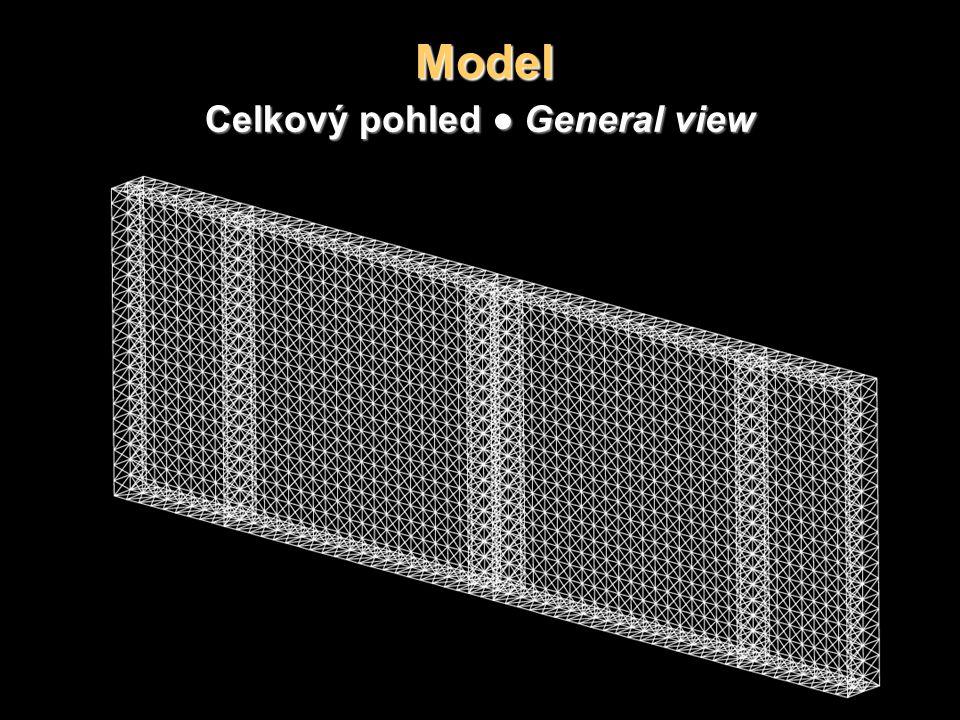 Model Celkový pohled ● General view