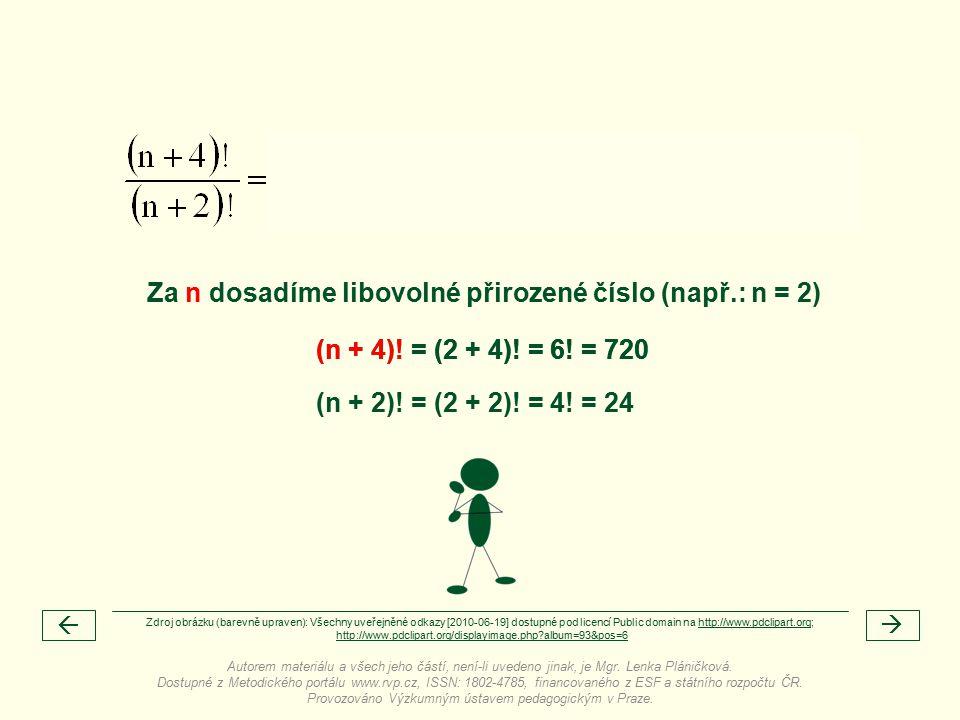 (n + 4). = (2 + 4). = 6.