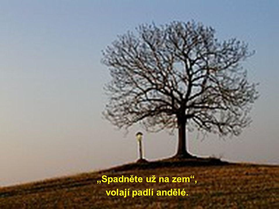 """""""Spadněte už na zem"""", volají padlí andělé."""