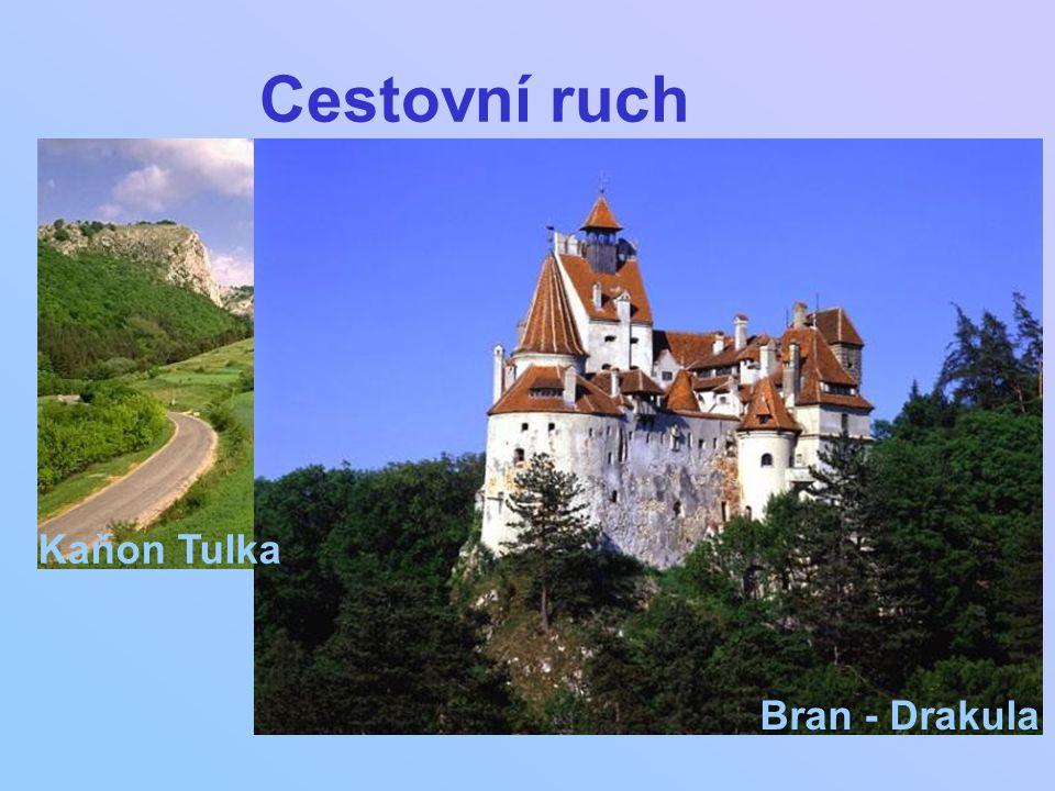 Cestovní ruch Bran - Drakula Kaňon Tulka