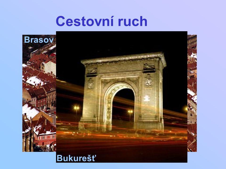 Cestovní ruch Bukurešť Brasov
