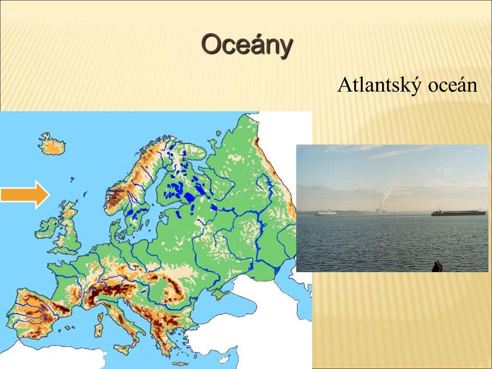 Oceány Atlantský oceán