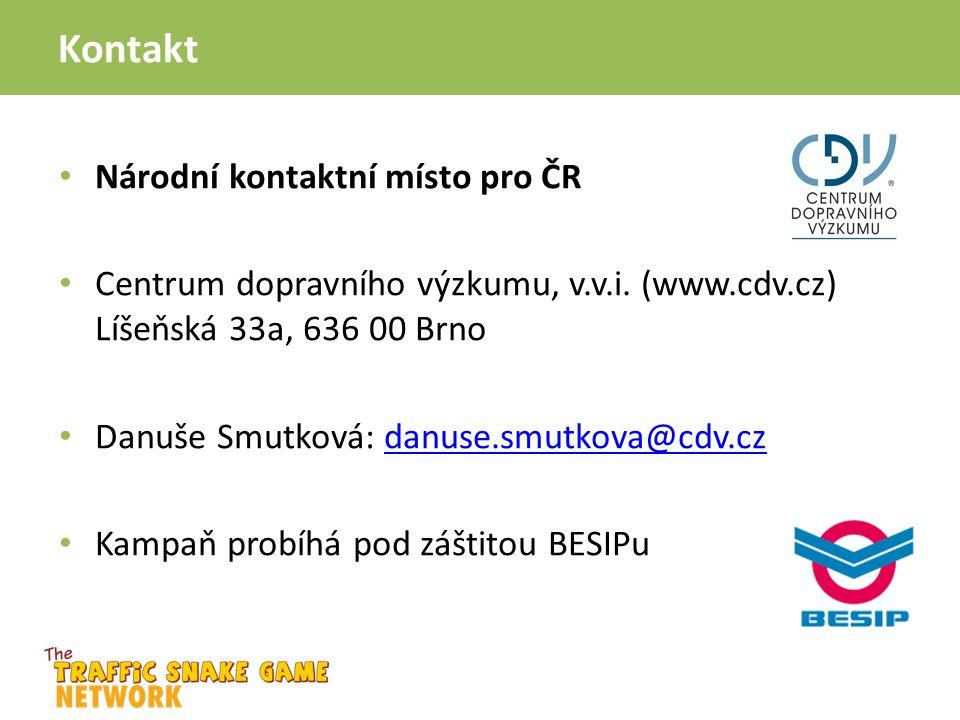 Kontakt Národní kontaktní místo pro ČR Centrum dopravního výzkumu, v.v.i. (www.cdv.cz) Líšeňská 33a, 636 00 Brno Danuše Smutková: danuse.smutkova@cdv.