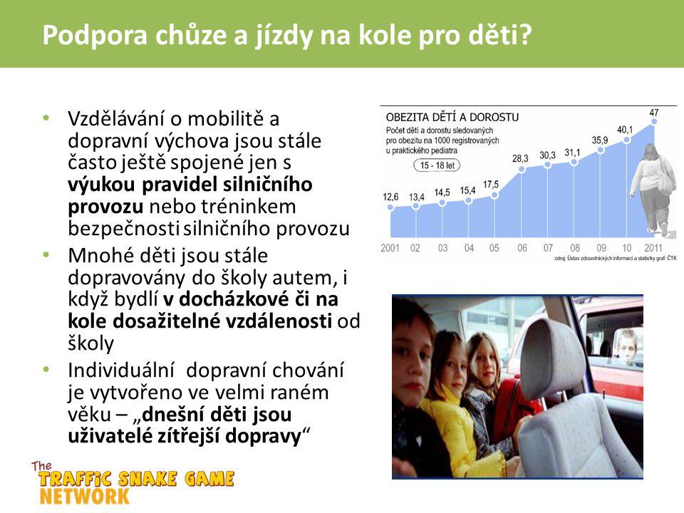 Podpora chůze a jízdy na kole pro děti? Vzdělávání o mobilitě a dopravní výchova jsou stále často ještě spojené jen s výukou pravidel silničního provo