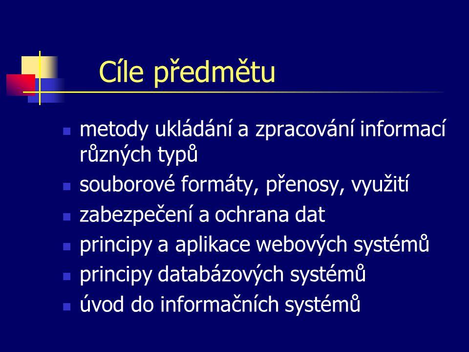 Změny oproti minulosti minimalizace času věnovaného příkazům systému Unix (navazuje se však na VA1) minimalizace času věnovaného dynamickým dokumentům na straně serveru (jen demonstrační charakter) přesun kapitoly dynamických dokumentů na straně klienta z IE1 do IE2 (jen v úvodních cvičeních) práce s regulárními výrazy v různých textech dílčí změny v pořadí a obsahu dalších kapitol