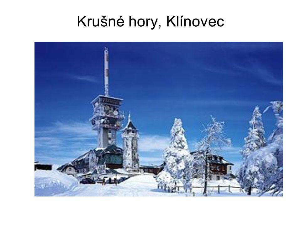 Krušné hory, Klínovec