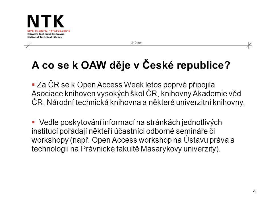 4 A co se k OAW děje v České republice.