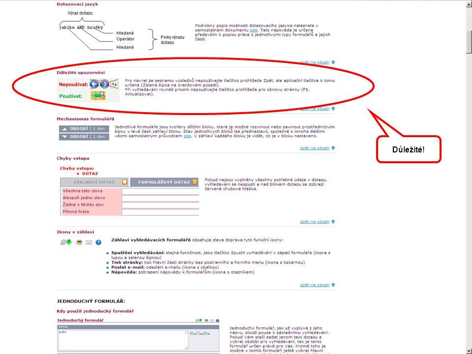 Anopress: nová grafika, nové možnosti Výběr nejdůležitějších novinek: Několik typů formulářů.