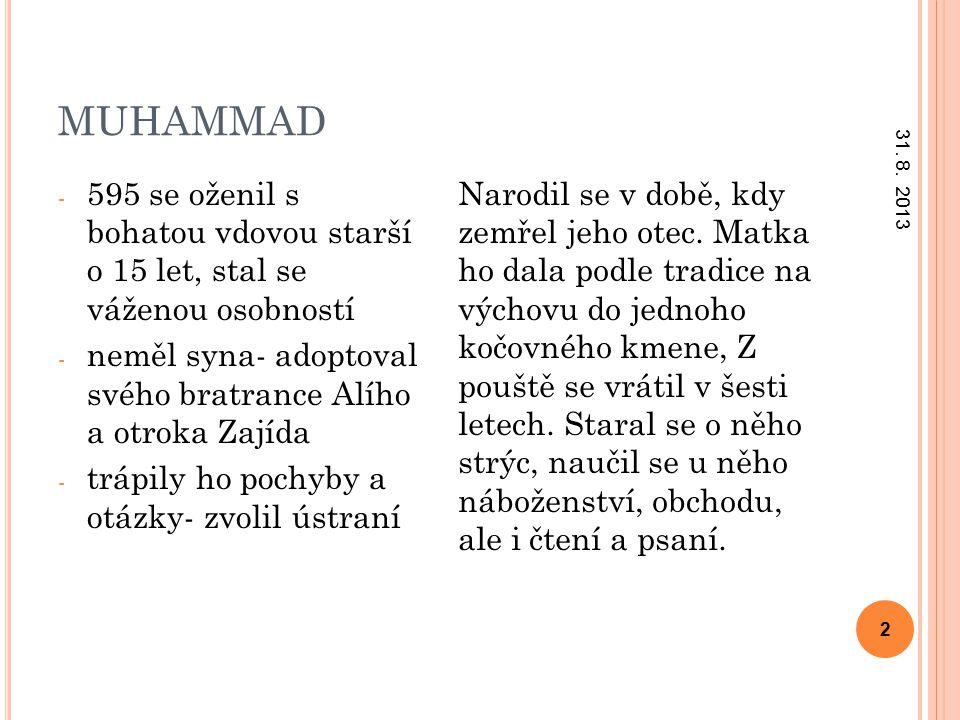MUHAMMAD 31. 8.