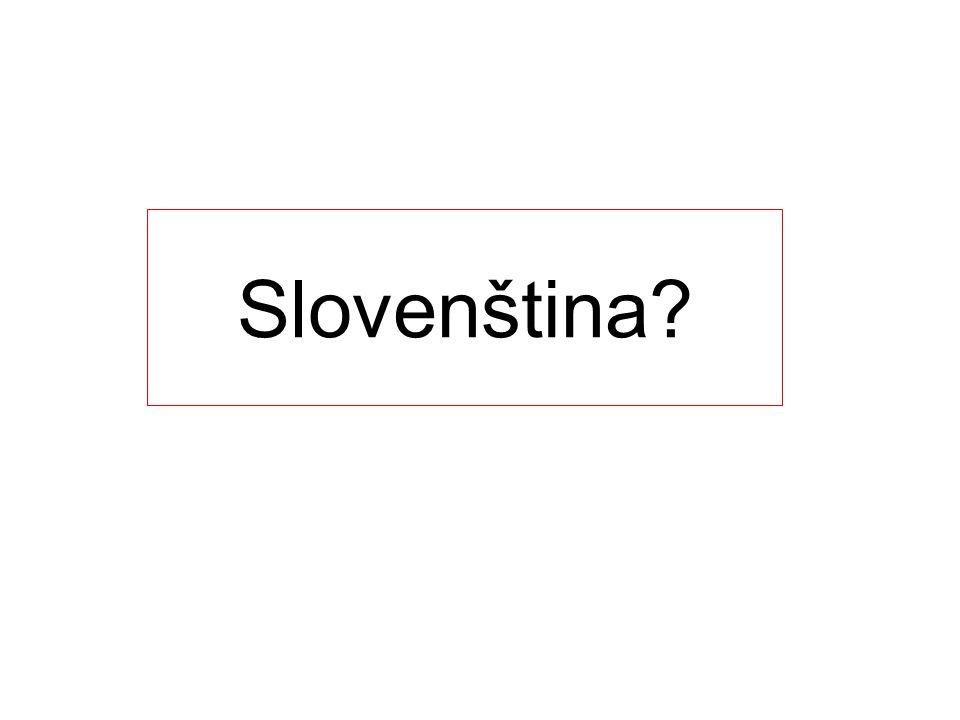 Slovenština