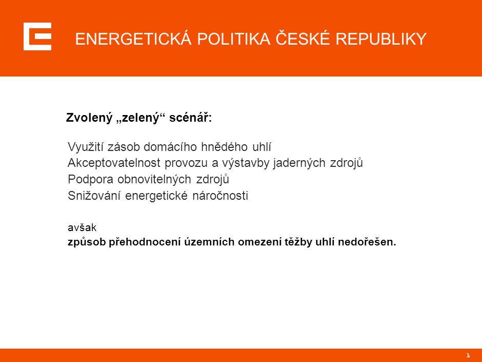 2 ENERGETICKÁ LEGISLATIVA Nový energetický zákon Dokončení liberalizace trhu s elektřinou Oddělení činností distribuce a obchodu - unbundling Zákon o podpoře obnovitelných zdrojů Změna formy podpory – volba ze dvou možností Garance návratnosti jako směrnice pro ERÚ Národní alokační plán Příděl povolenek CO 2 Změna vyhlášky o účinnosti nových zdrojů Odstraněna zábrana ve formě nedosažitelné účinnosti