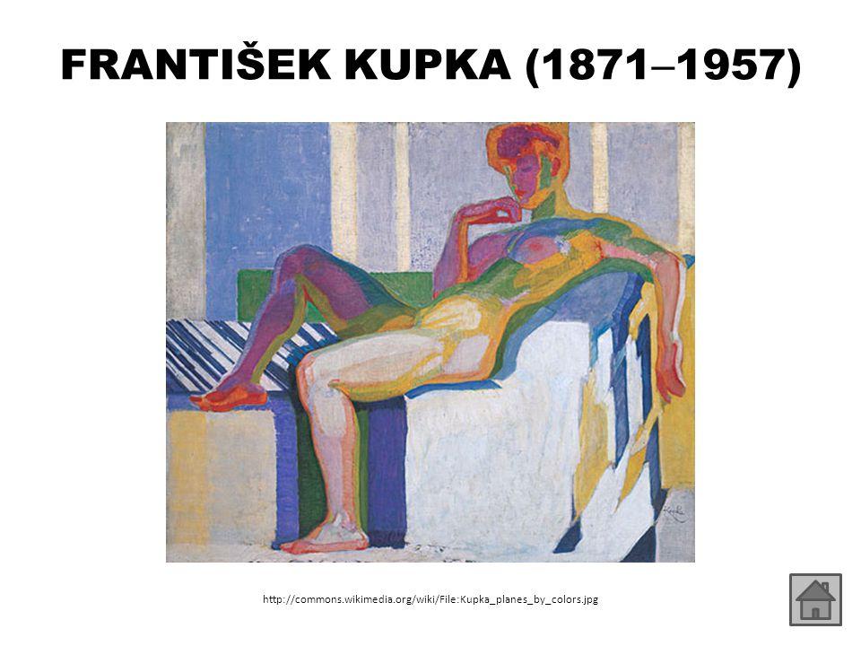 FRANTIŠEK KUPKA (1871 – 1957) http://commons.wikimedia.org/wiki/File:Kupka_planes_by_colors.jpg