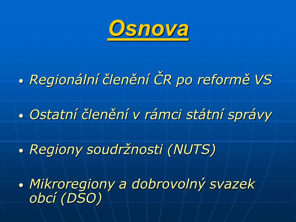DSO - dobrovolný svazek obcí a mikroregiony Jednou z forem spolupráce mezi obcemi vytvářeny za účelem ochrany a prosazování svých společných zájmů Počet k 1.listopadu 2010 je 564 Např.