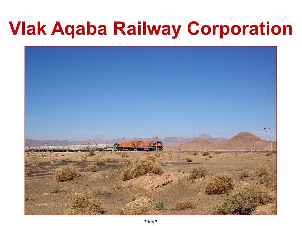 Vlak Aqaba Railway Corporation Zdroj 7