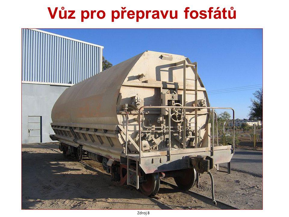 Vůz pro přepravu fosfátů Zdroj 8