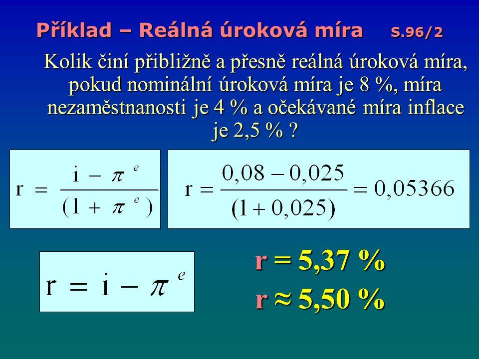 5) Inflace; Definice Opakování: Co je inflace.