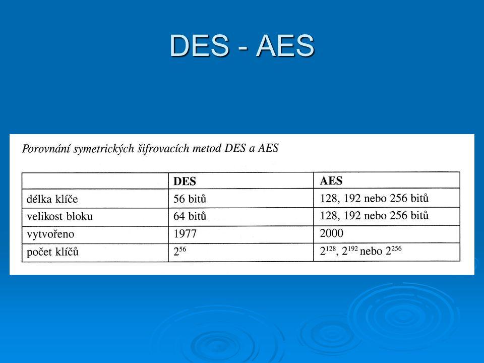 DES - AES