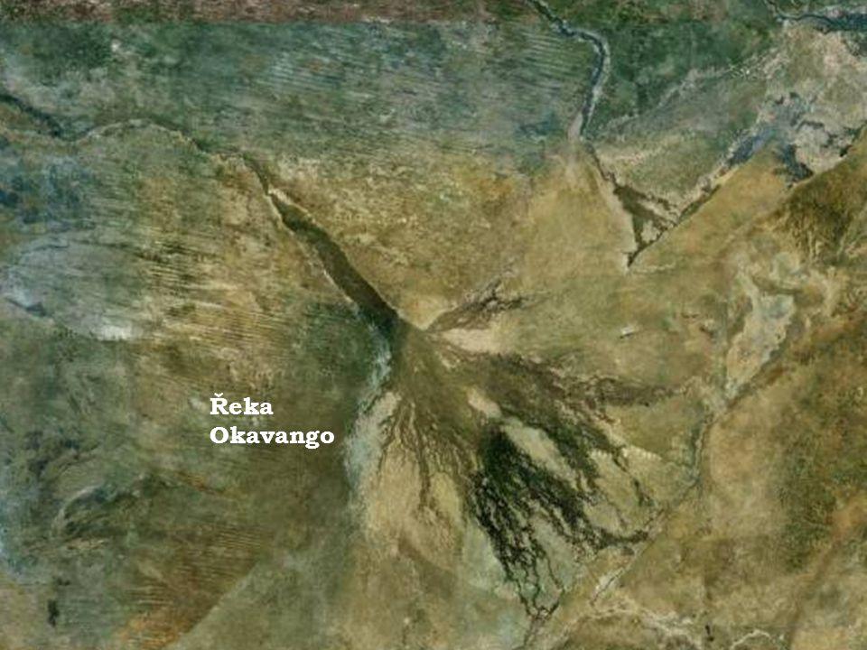 Řeka Okavango