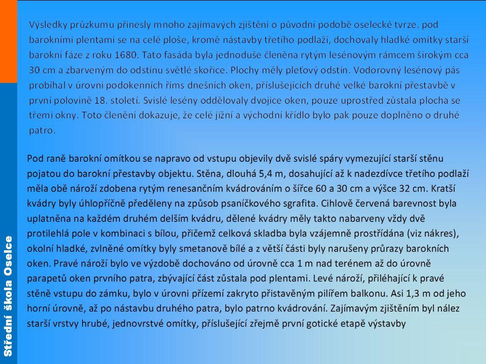 Zdroj materiálů: Archiv SŠ Oselce Není-li uvedeno jinak, je autorem tohoto materiálu a všech jeho částí autor uvedený na titulním snímku.