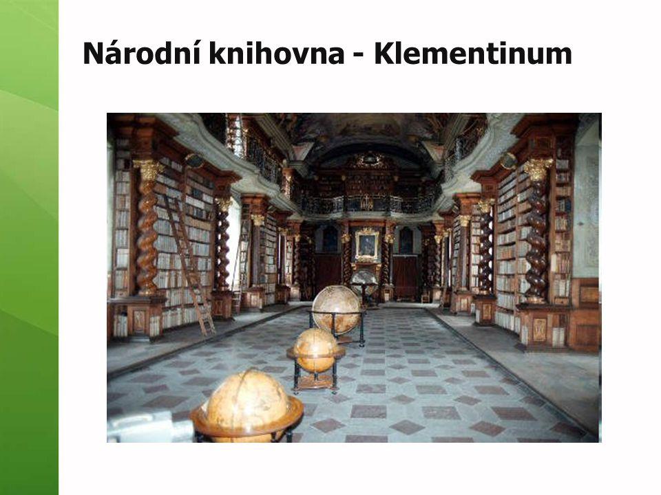 Národní knihovna - Klementinum