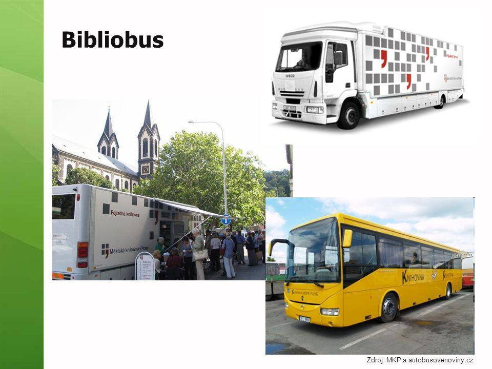 Bibliobus Zdroj: MKP a autobusovenoviny.cz