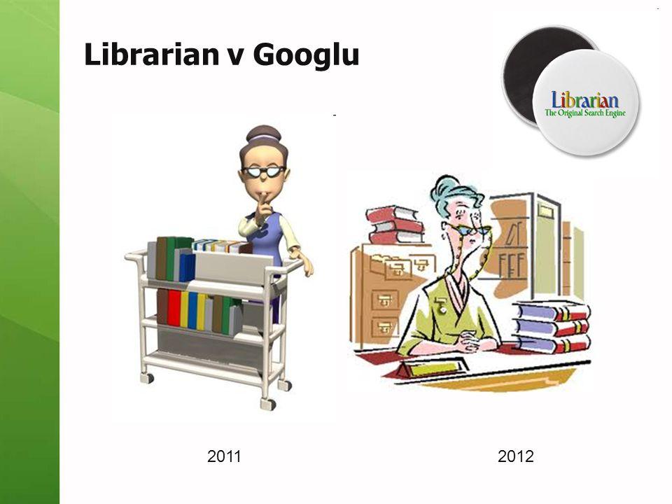 Librarian v Googlu 20112012