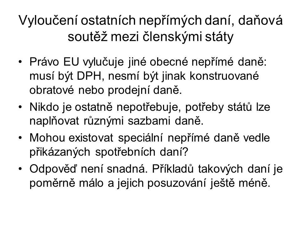 Příklady uplatnění práva ES ohledně DPH v ČR – povaha půjčení kluziště NSS 9 Afs 5/2007-70 ze dne 22.