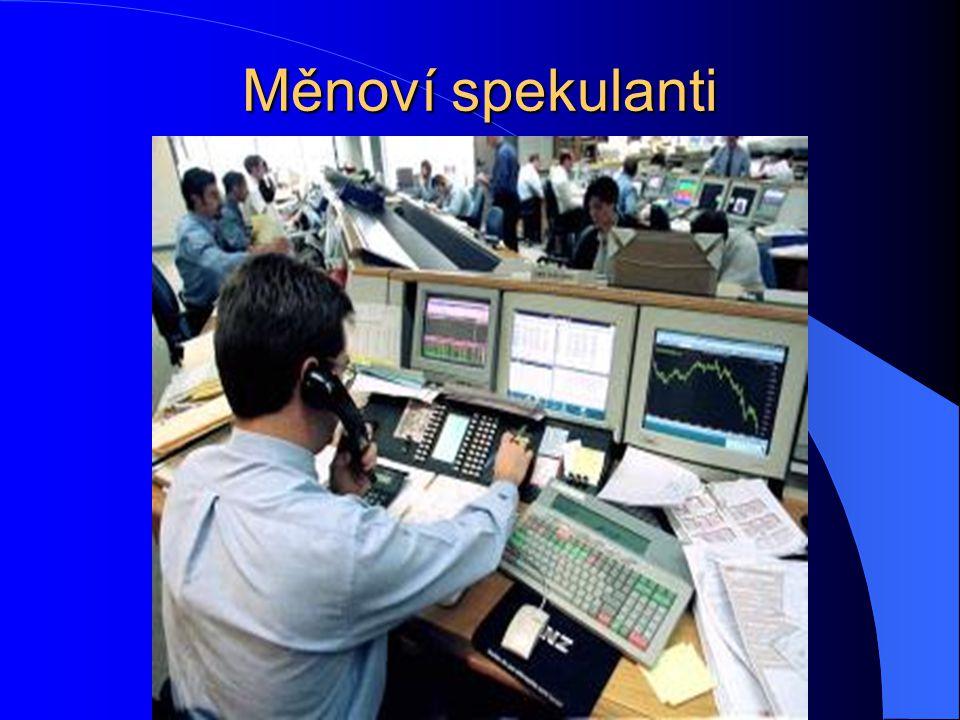 Měnoví spekulanti