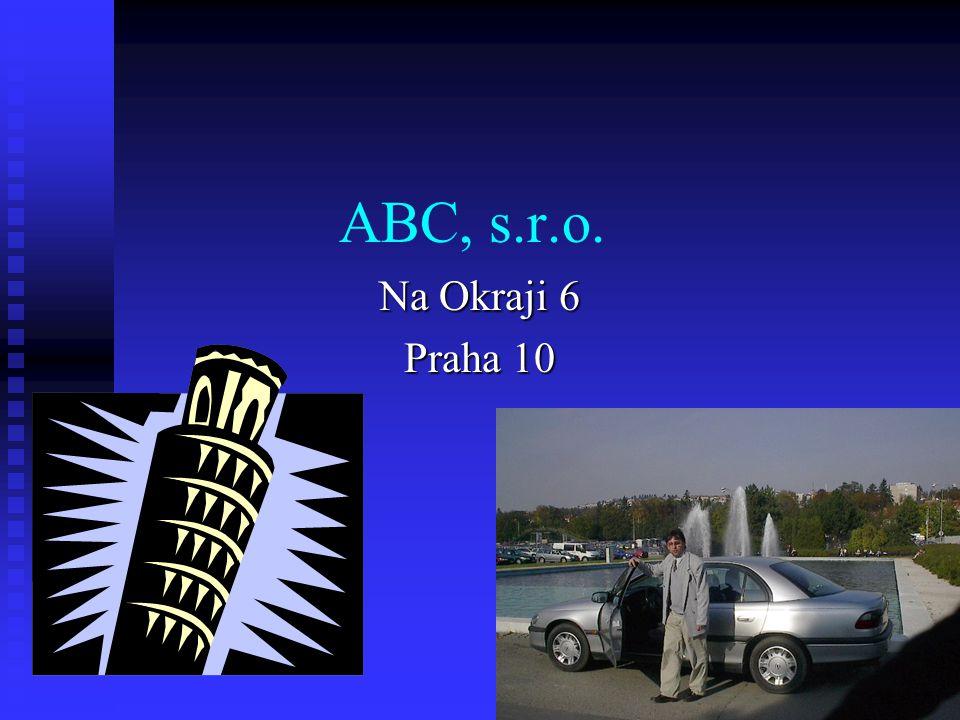 ABC, s.r.o. Na Okraji 6 Praha 10