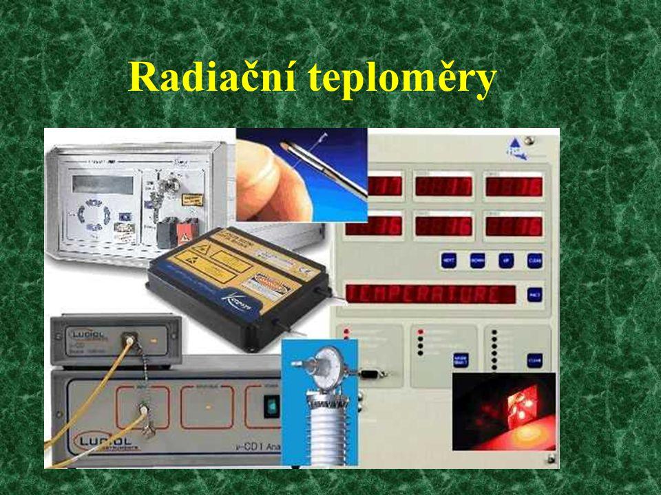 Radiační teploměry