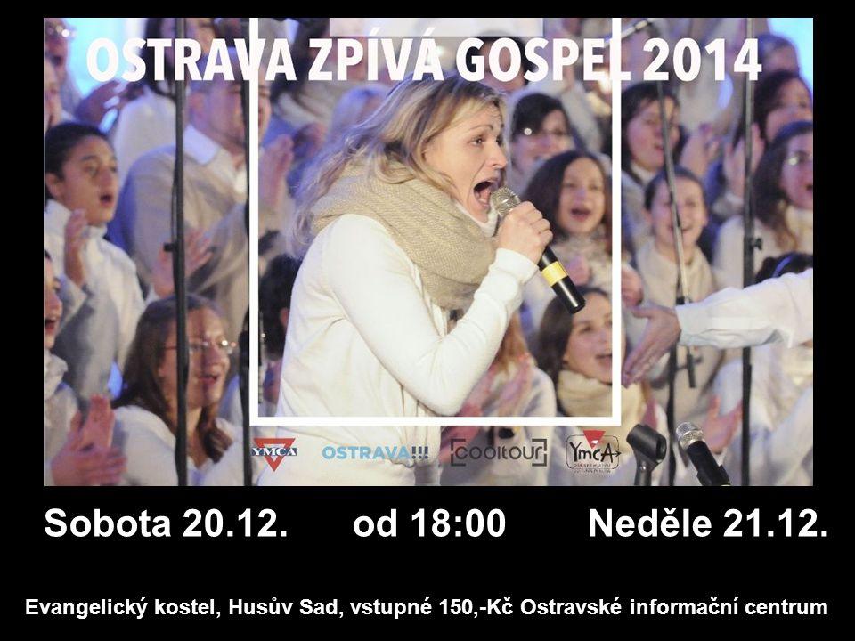 Sbor Církve bratrské v Ostravě sborová oznámení 21.12.2014 SRDEČNĚ ZVEME NA VÁNOČNÍ SHROMÁŽDĚNÍ čtvrtek 25.12.