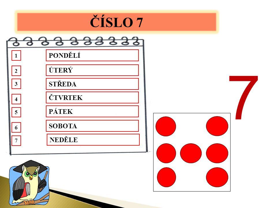 Napiš správně číslice od 6 -10 do vagónků tak, jak jdou za sebou.