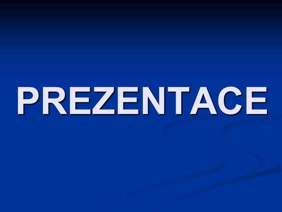 Osnova Typy prezentace Typy prezentace Příprava prezentace Příprava prezentace Zásady při přípravě a tvorbě prezentace Zásady při přípravě a tvorbě prezentace Možnosti a metody prezentace Možnosti a metody prezentace Chyby při prezentaci Chyby při prezentaci