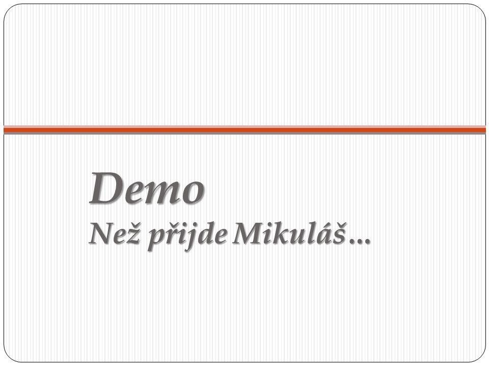 Demo Než přijde Mikuláš…