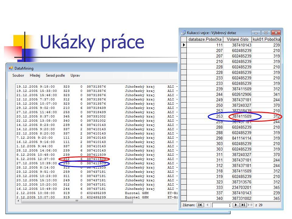 Zhodnocení a závěr Zdokumentování výsledků Porovnání použitých prostředků Doporučení na základě výsledků